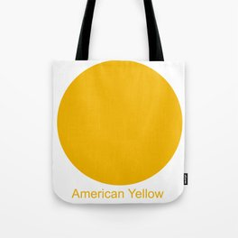 American Yellow Tote Bag