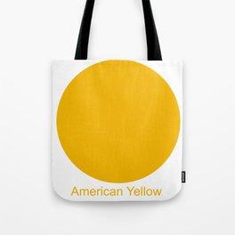 American Yellow Tote Bag