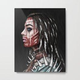Huntress Metal Print