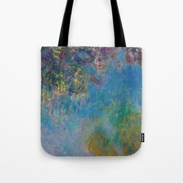 Wisteria by Claude Monet Tote Bag
