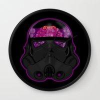 trooper Wall Clocks featuring Trooper by Betmac