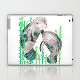 Manatees Laptop & iPad Skin