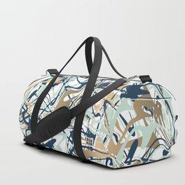 Abstract Minimal Memphis Pattern Duffle Bag