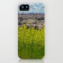Badlands in Bloom iPhone Case
