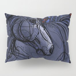Valor the Mustang Pillow Sham