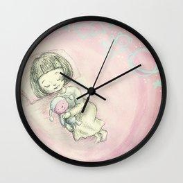Sleeping Wall Clock