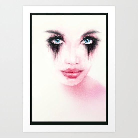 MonGhost XII - TheWarriorGirl Art Print