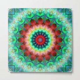 Healing Mandala 01 Metal Print