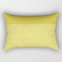 Riverside(Yellow) Rectangular Pillow
