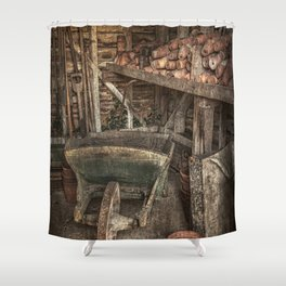 The Garden Shed Shower Curtain