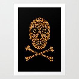 Skulleidoscope Art Print