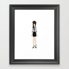 Amy Rehab Outfit 1 Framed Art Print