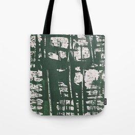 NYC Walls (zelen) Tote Bag