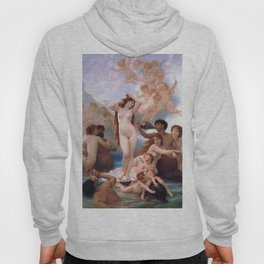 The Birth of Venus by William Adolphe Bouguereau Hoody