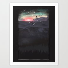 Northern Sky Art Print