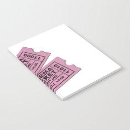 Cinema Tickets Notebook