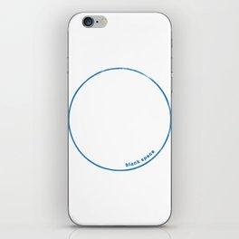Blank Space iPhone Skin