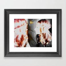 Ghost of a Hippie Framed Art Print