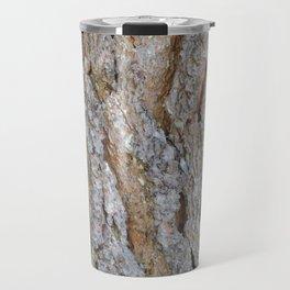 TEXTURES -- Big Cone Pine Bark Travel Mug