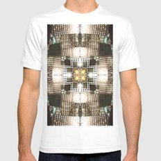Reflexcity Mens Fitted Tee White MEDIUM