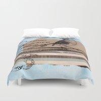 birdy Duvet Covers featuring Birdy by zAcheR-fineT