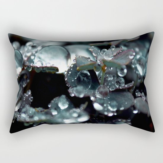 Crystal Drops Rectangular Pillow