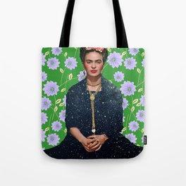 Flowers Frida Kahlo VI Tote Bag