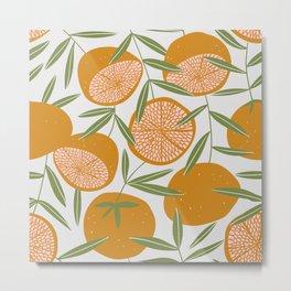 Exotic citrus Metal Print