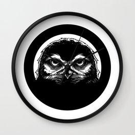 meh.ro logo Wall Clock