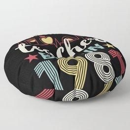 Teacher born in 1981 40th Birthday Gift Teaching Floor Pillow