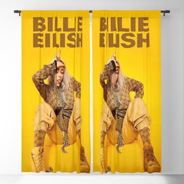 papatwe Billie Show American Tour 2019 Blackout Curtain