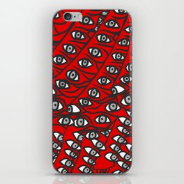 Freddie Eyeballs Red iPhone Skin