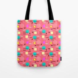 Memphis Forever - Coral Tote Bag