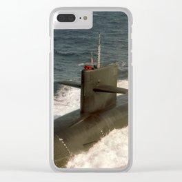 USS KENTUCKY (SSBN-737) Clear iPhone Case