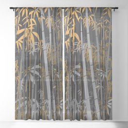 Bamboo 5 Sheer Curtain