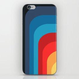 Retro Rainbow 01 iPhone Skin
