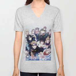 Anime Teens japanese Unisex V-Neck