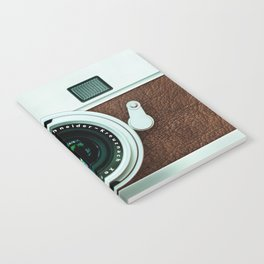 Retro vintage leather camera Notebook