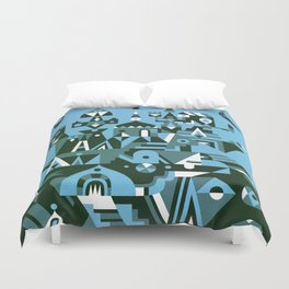 Structura 3 Duvet Cover