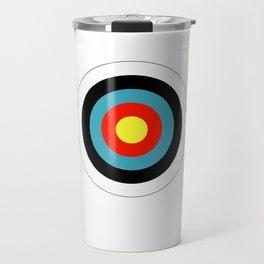 Bullseye Archery Target Shooter Rings Travel Mug