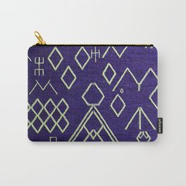 V20 Traditional Moroccan Carpet Texture. Carry-All Pouch