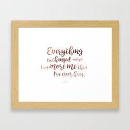 """""""Everything"""" Ornate Framed Art Print"""