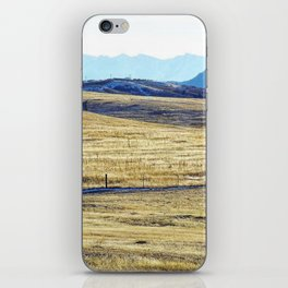 Winter Run iPhone Skin