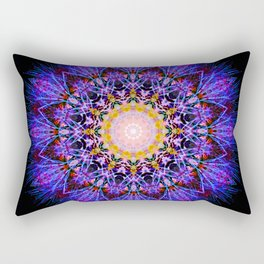 Flower Mandala II Rectangular Pillow