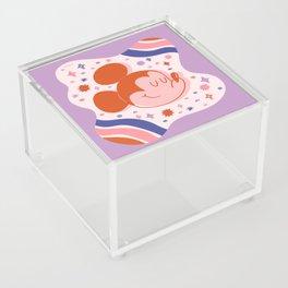 """Mickey Mouse Galaxy"" by Jenny Chang-Rodriguez Acrylic Box"