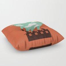 The Cloud Factory Floor Pillow