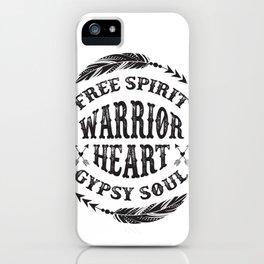 Warrior Heart iPhone Case
