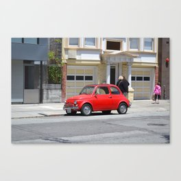 Small Red Canvas Print