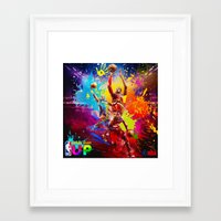 nba Framed Art Prints featuring NBA by Don Kuing