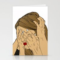 introvert Stationery Cards featuring Introvert 6 by Heidi Banford